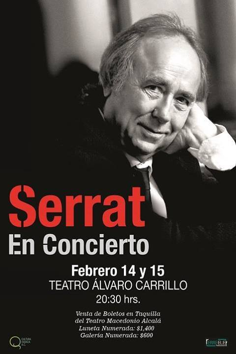 Serrat en concierto